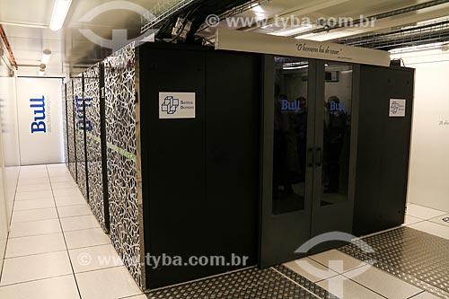 Computador Santos Dumont - maior supercomputador da América Latina com a capacidade de realizar 1,1 quatrilhão de operações por segundo  - Petrópolis - Rio de Janeiro (RJ) - Brasil