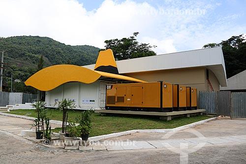 Fachada do edifício onde está o Computador Santos Dumont - maior supercomputador da América Latina com a capacidade de realizar 1,1 quatrilhão de operações por segundo  - Petrópolis - Rio de Janeiro (RJ) - Brasil