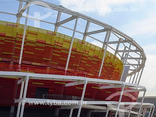 Fachada do Centro Olímpico de Tênis - parte do Parque Olímpico Rio 2016  - Rio de Janeiro - Rio de Janeiro (RJ) - Brasil