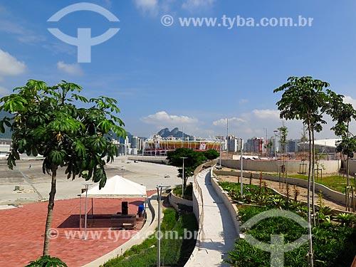 Canteiro de obras do Parque Olímpico Rio 2016 - antigo Autódromo Internacional Nelson Piquet - Autódromo de Jacarepaguá  - Rio de Janeiro - Rio de Janeiro (RJ) - Brasil