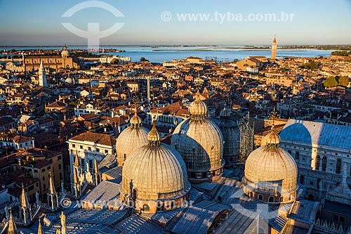 Vista geral de Veneza a partir da Basilica di San Marco (Basílica de São Marcos) - 1617  - Veneza - Província de Veneza - Itália