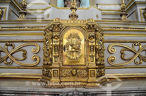 Interior da Igreja de Nossa Senhora do Carmo da Lapa do Desterro (1750)  - Rio de Janeiro - Rio de Janeiro (RJ) - Brasil