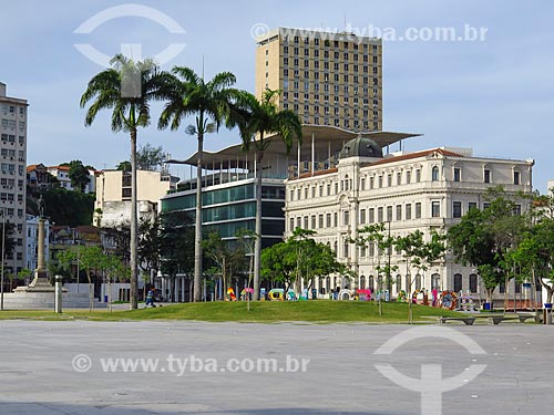 Vista do Museu de Arte do Rio (MAR) a partir da Praça Mauá  - Rio de Janeiro - Rio de Janeiro (RJ) - Brasil