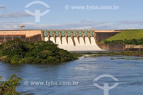 Usina Hidrelétrica de Marimbondo  - Icém - São Paulo (SP) - Brasil