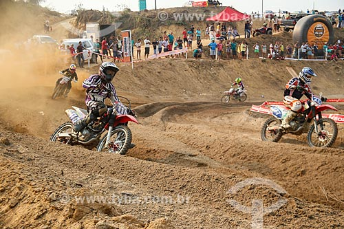 Pilotos na 1ª Etapa do Campeonato Rondoniense de Motocross  - Machadinho dOeste - Rondônia (RO) - Brasil