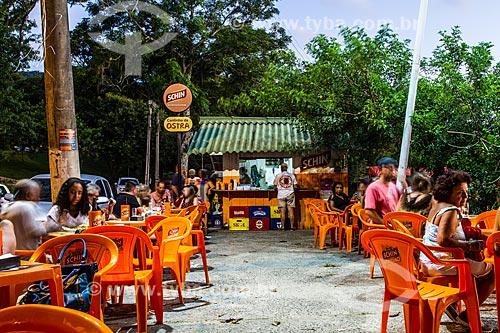 Bar e restaurante na Praia de Santo Antonio de Lisboa  - Florianópolis - Santa Catarina (SC) - Brasil