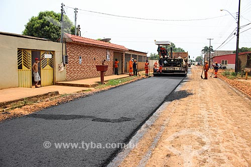 Pavimentação da Rua Anari  - Porto Velho - Rondônia (RO) - Brasil