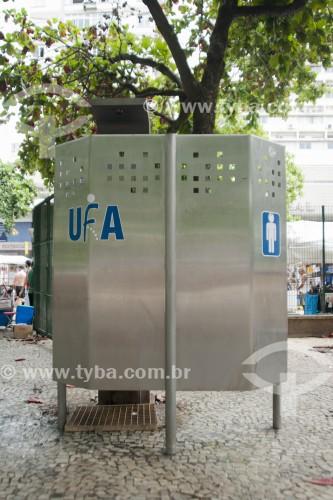 Unidade Fornecedora de Alívio (UFA) - Banheiro público na Praça General Osório  - Rio de Janeiro - Rio de Janeiro (RJ) - Brasil
