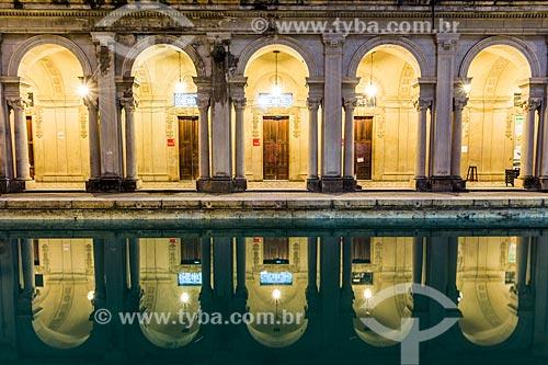 Pátio do prédio da Escola de Artes Visuais do Parque Henrique Lage - mais conhecido como Parque Lage  - Rio de Janeiro - Rio de Janeiro (RJ) - Brasil