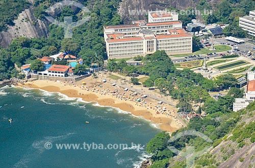 Vista da Praia Vermelha a partir do Morro da Urca  - Rio de Janeiro - Rio de Janeiro (RJ) - Brasil