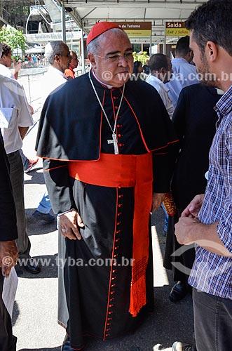 Dom Orani João Tempesta - arcebispo do Rio de Janeiro - no Morro da Urca  - Rio de Janeiro - Rio de Janeiro (RJ) - Brasil