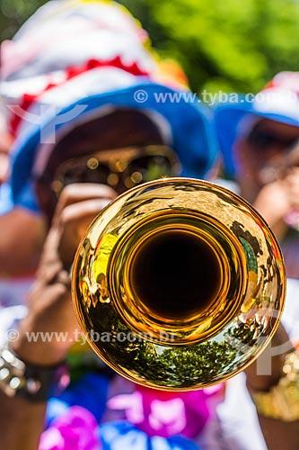 Desfile do bloco de carnaval de rua Gigantes da Lira  - Rio de Janeiro - Rio de Janeiro (RJ) - Brasil