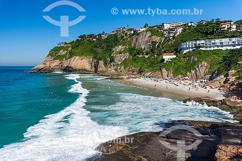 Orla da Praia da Joatinga  - Rio de Janeiro - Rio de Janeiro (RJ) - Brasil