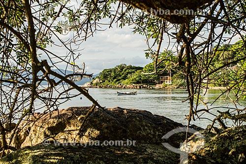 Praia da Ponta do Sambaqui  - Florianópolis - Santa Catarina (SC) - Brasil