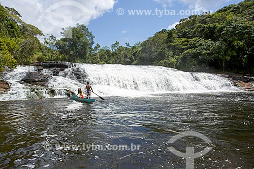 Cachoeira do Tremembé no Rio Maraú  - Maraú - Bahia (BA) - Brasil