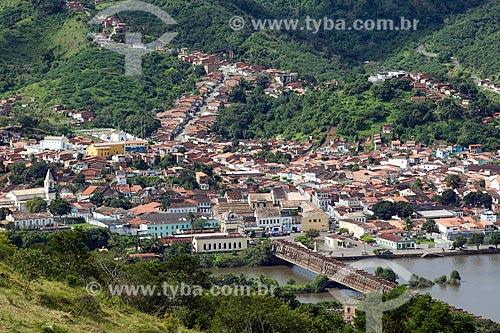 Vista geral da cidade de Cachoeira  - Cachoeira - Bahia (BA) - Brasil