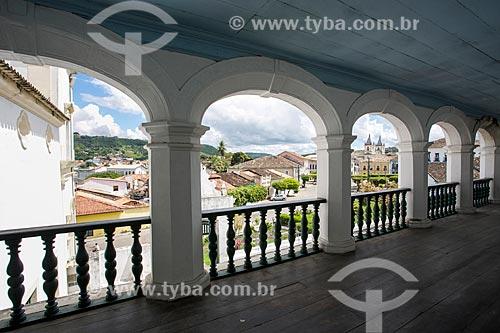 Vista da cidade de Cachoeira a partir do Convento de Nossa Senhora do Carmo (século XVIII)  - Cachoeira - Bahia (BA) - Brasil