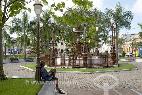 Praça da Purificação em Santo Amaro da Purificação  - Santo Amaro - Bahia (BA) - Brasil