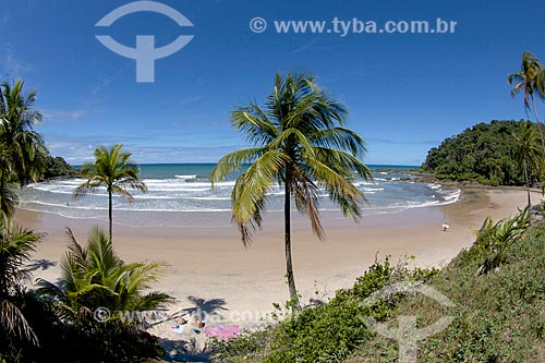 Orla da Praia da Engenhoca  - Itacaré - Bahia (BA) - Brasil