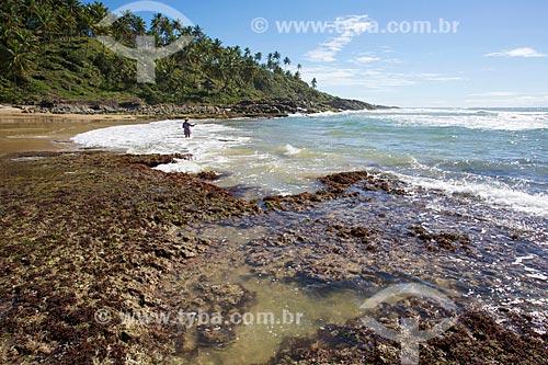 Orla da Praia do Resende  - Itacaré - Bahia (BA) - Brasil