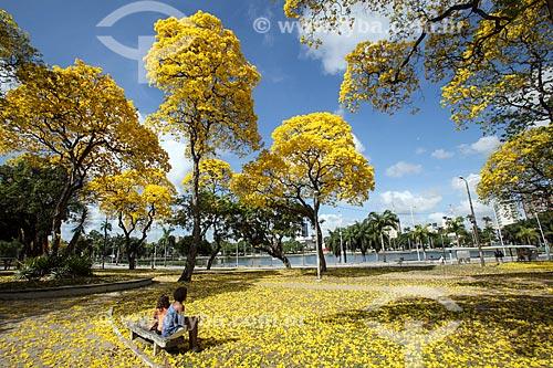 Crianças no Parque Sólon de Lucena - também conhecido simplesmente como Lagoa  - João Pessoa - Paraíba (PB) - Brasil
