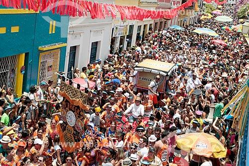 Desfile do Samba do DBreck durante o carnaval  - Olinda - Pernambuco (PE) - Brasil