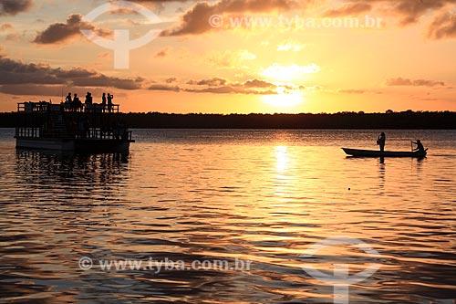 Pôr do sol na Praia do Jacaré  - Cabedelo - Paraíba (PB) - Brasil