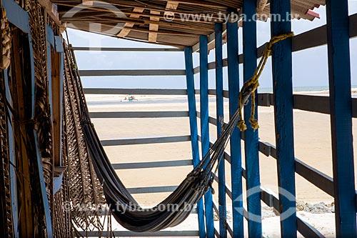 Rede na Praia da Barra do Gramame  - Conde - Paraíba (PB) - Brasil