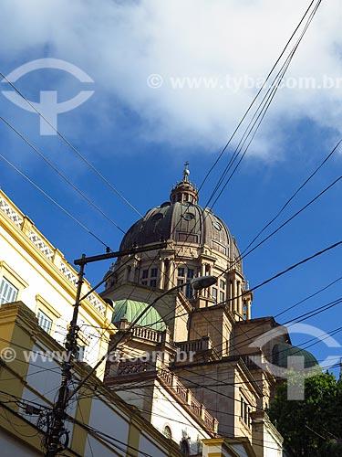 Fachada posterior da Catedral Metropolitana de Porto Alegre (1929)  - Porto Alegre - Rio Grande do Sul (RS) - Brasil