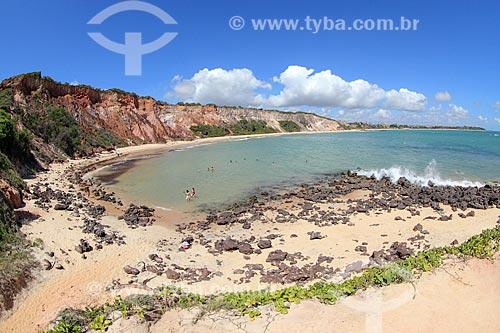 Vista geral da Praia do Tabatinga  - Conde - Paraíba (PB) - Brasil