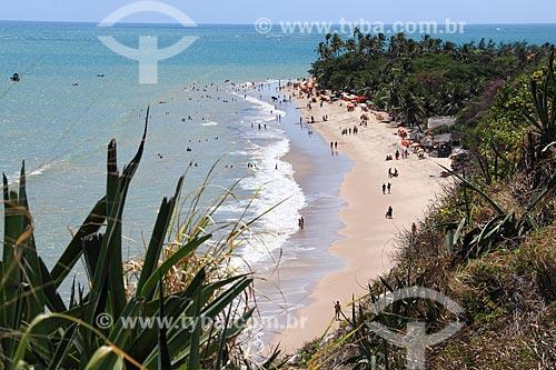 Vista geral da orla da Praia dos Seixas  - João Pessoa - Paraíba (PB) - Brasil