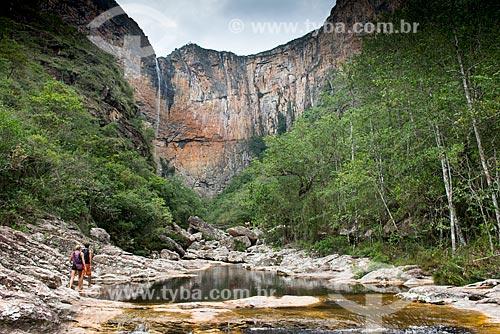 Trilha para Cachoeira do Tabuleiro  - Conceição do Mato Dentro - Minas Gerais (MG) - Brasil