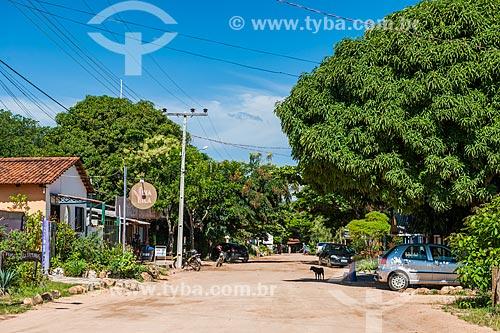 Rua no distrito de São Jorge  - Alto Paraíso de Goiás - Goiás (GO) - Brasil