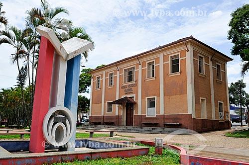 Museu Histórico Luiz Saffi na Praça Doutor Tatinho  - Barra Bonita - São Paulo (SP) - Brasil
