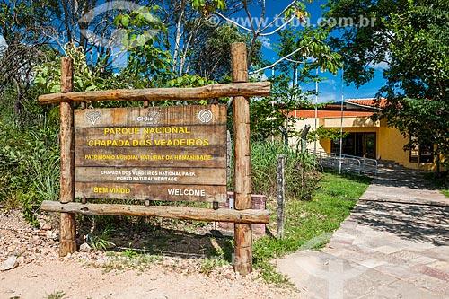 Entrada do Parque Nacional da Chapada dos Veadeiros  - Alto Paraíso de Goiás - Goiás (GO) - Brasil