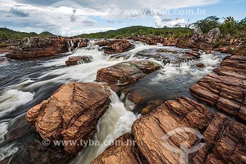 Rio Negro no Parque Nacional da Chapada dos Veadeiros  - Alto Paraíso de Goiás - Goiás (GO) - Brasil