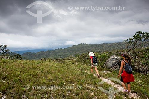 Trilha no Parque Nacional Serra do Cipó  - Santana do Riacho - Minas Gerais (MG) - Brasil