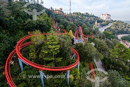 Parque de diversões de Tibidabo  - Barcelona - Província de Barcelona - Espanha