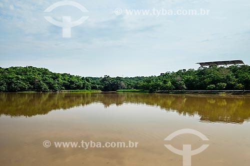 Lago do Parque Cesamar (1988)  - Palmas - Tocantins (TO) - Brasil