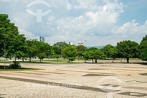 Vista geral da Praça dos Girassóis  - Palmas - Tocantins (TO) - Brasil