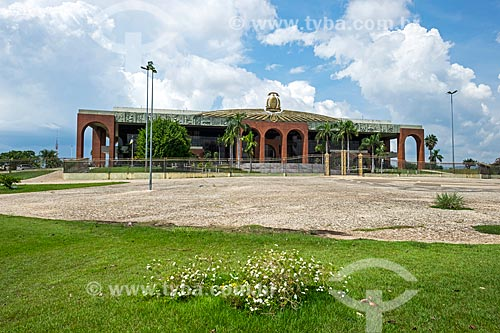 Fachada do Palácio Araguaia (1991) - sede do Governo do Estado  - Palmas - Tocantins (TO) - Brasil