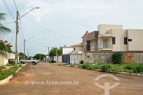 Fachada de casas de alto padrão na quadra 303 sul  - Palmas - Tocantins (TO) - Brasil