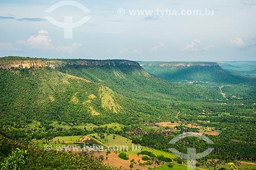 Vista geral da Reserva Biológica Serra do Lajeado  - Palmas - Tocantins (TO) - Brasil