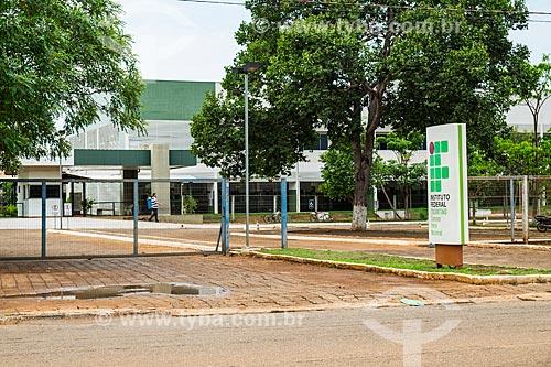 Fachada do Instituto Federal de Educação, Ciência e Tecnologia  - Porto Nacional - Tocantins (TO) - Brasil
