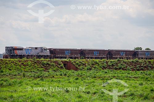 VLI Multimodal S.A. - empresa logística ligada à Companhia Vale do Rio Doce - no Pátio Intermodal de Porto Nacional  - Porto Nacional - Tocantins (TO) - Brasil