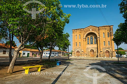 Fachada da Catedral de Nossa Senhora das Mercês (1904)  - Porto Nacional - Tocantins (TO) - Brasil