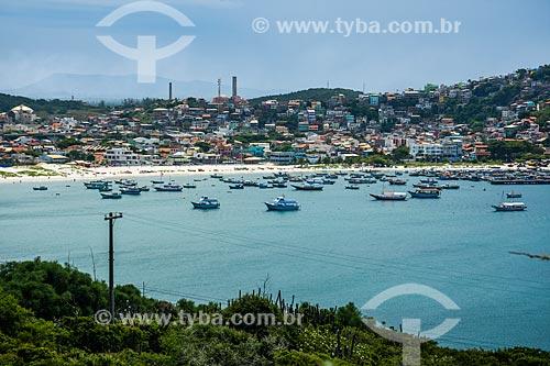 Vista geral de Arraial do Cabo  - Arraial do Cabo - Rio de Janeiro (RJ) - Brasil