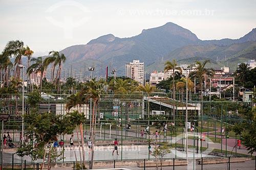 Quadras esportivas no Parque Madureira  - Rio de Janeiro - Rio de Janeiro (RJ) - Brasil
