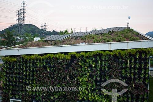 Jardim Vertical ou Parede Verde do Centro de Educação Ambiental - Parque Madureira  - Rio de Janeiro - Rio de Janeiro (RJ) - Brasil