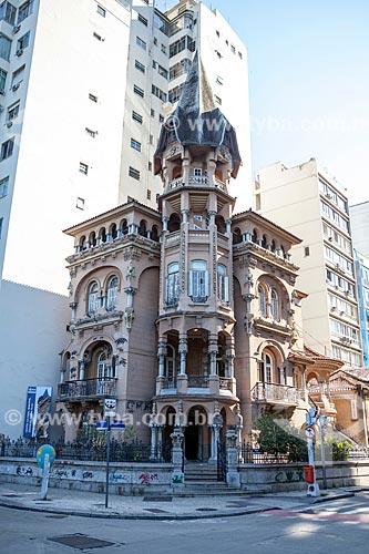 Centro Cultural Oduvaldo Vianna Filho (1918) - Castelinho do Flamengo  - Rio de Janeiro - Rio de Janeiro (RJ) - Brasil